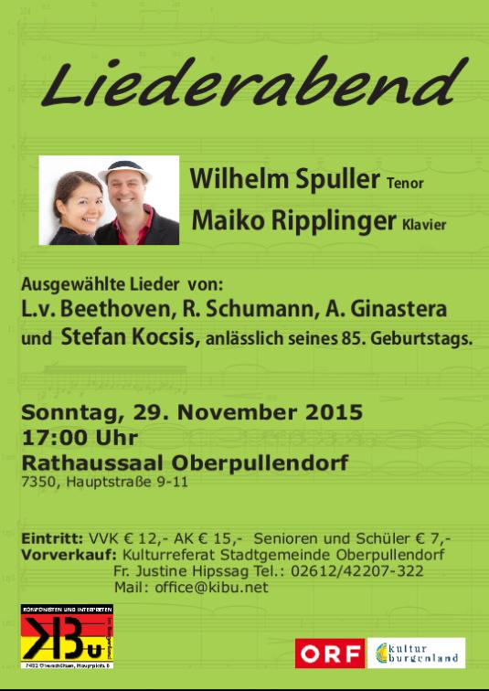 Liederabend Oberpullendorf